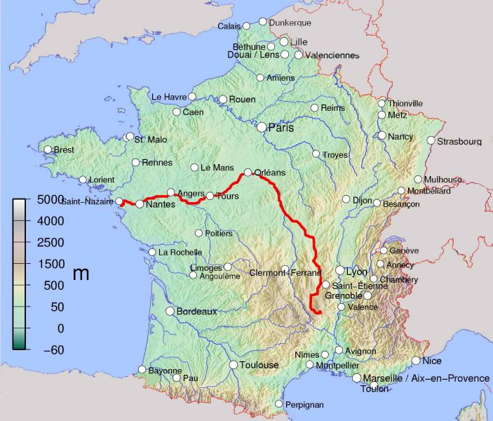 Loire Source To Sea Green Jersey French Cycling Tours