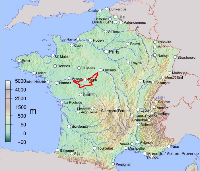 Loire Valley Classic Green Jersey French Cycling Tours