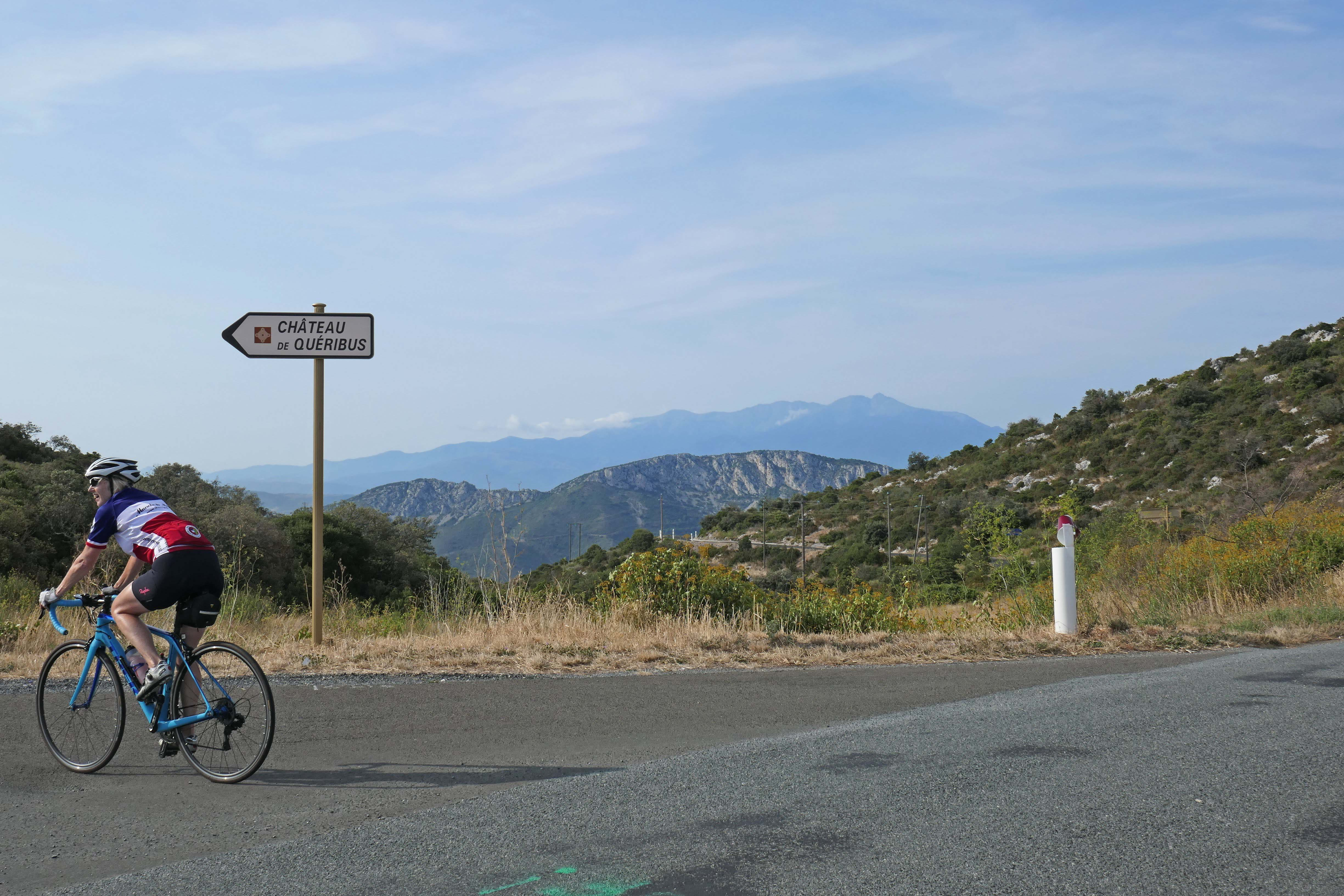 Approaching Perpignan and the conclusion of your cycling tour