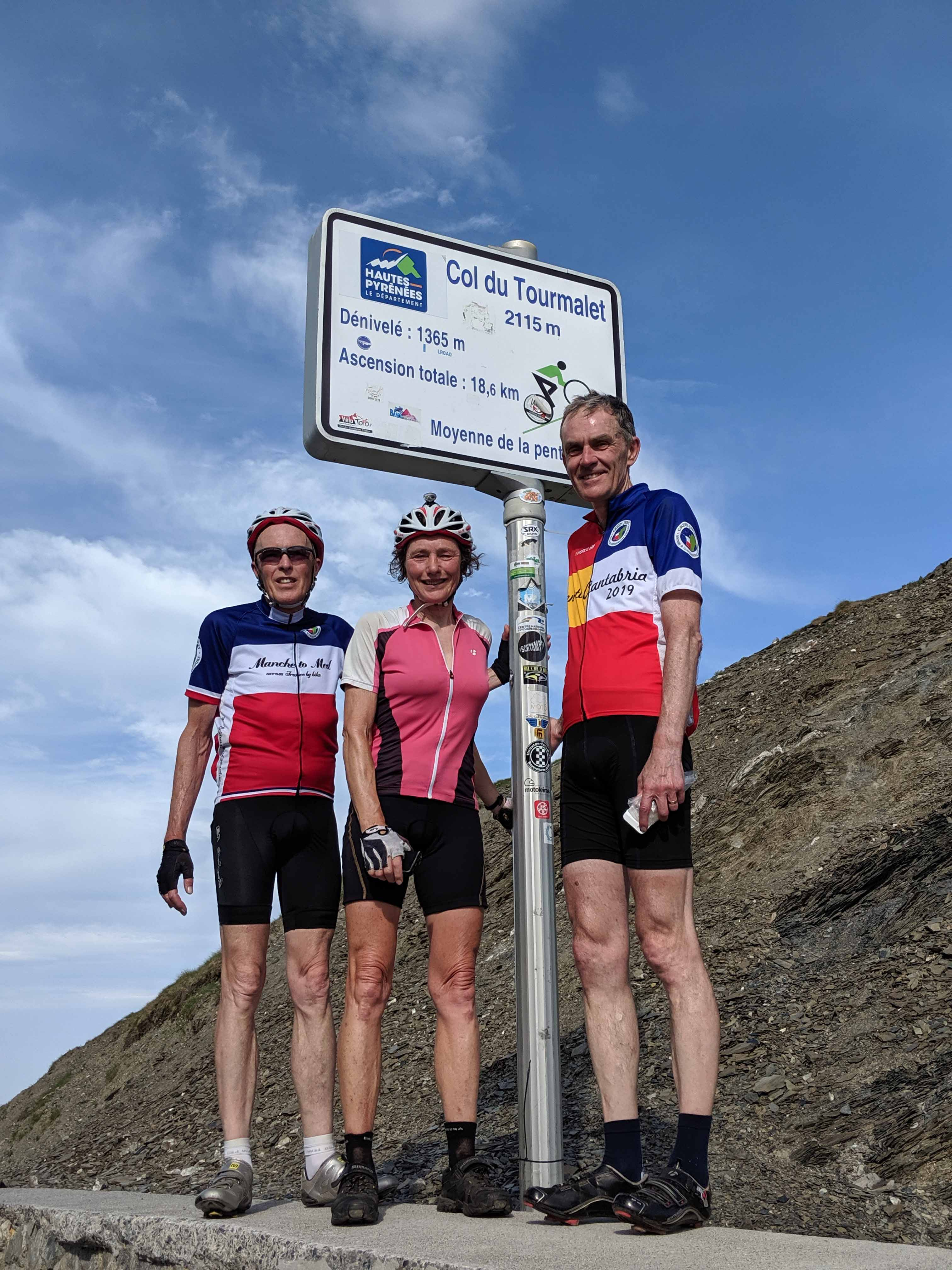The Col du Tourmalet awaits for those who fancy it!
