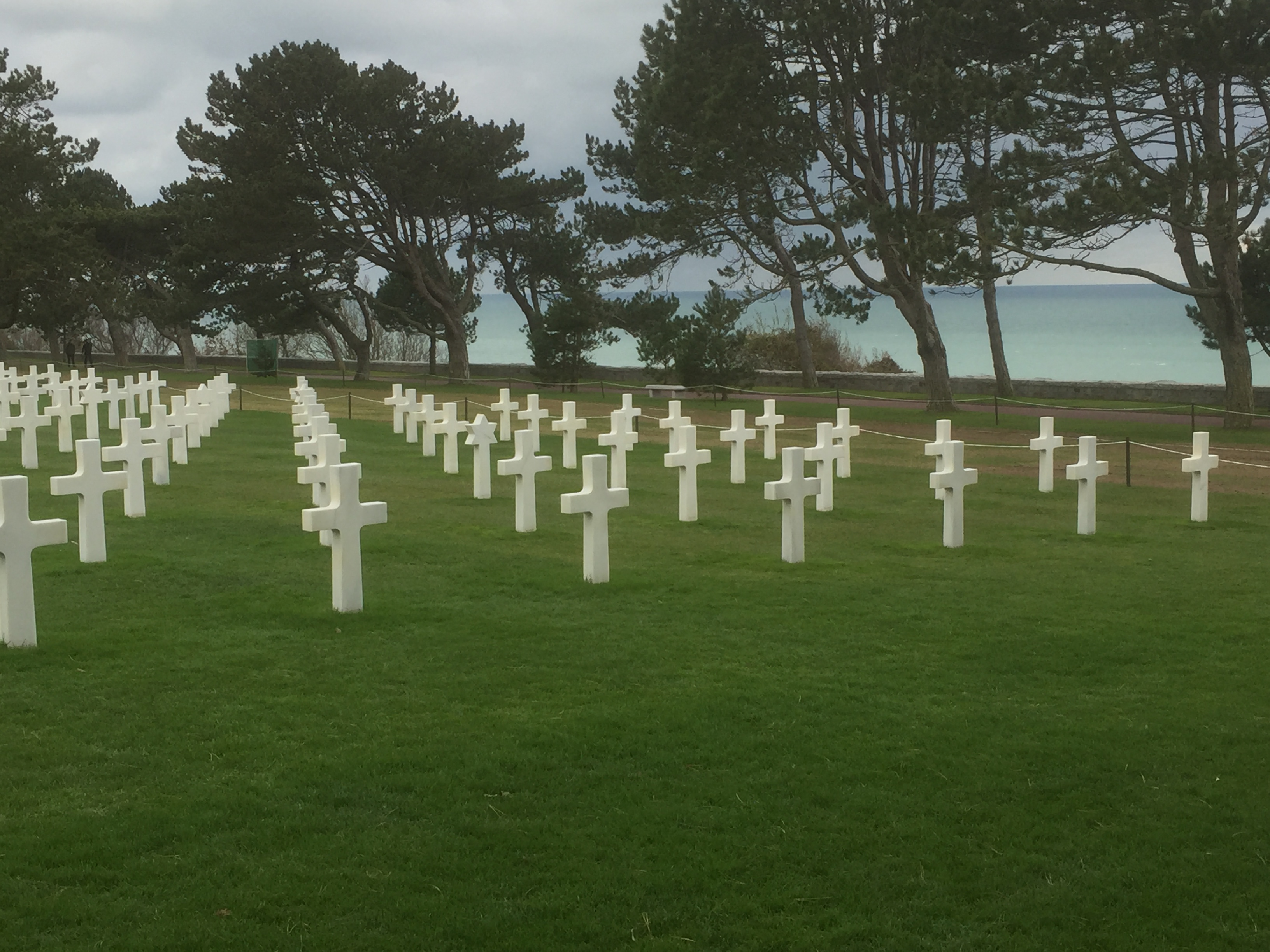 US Cemetery at Omaha Beach
