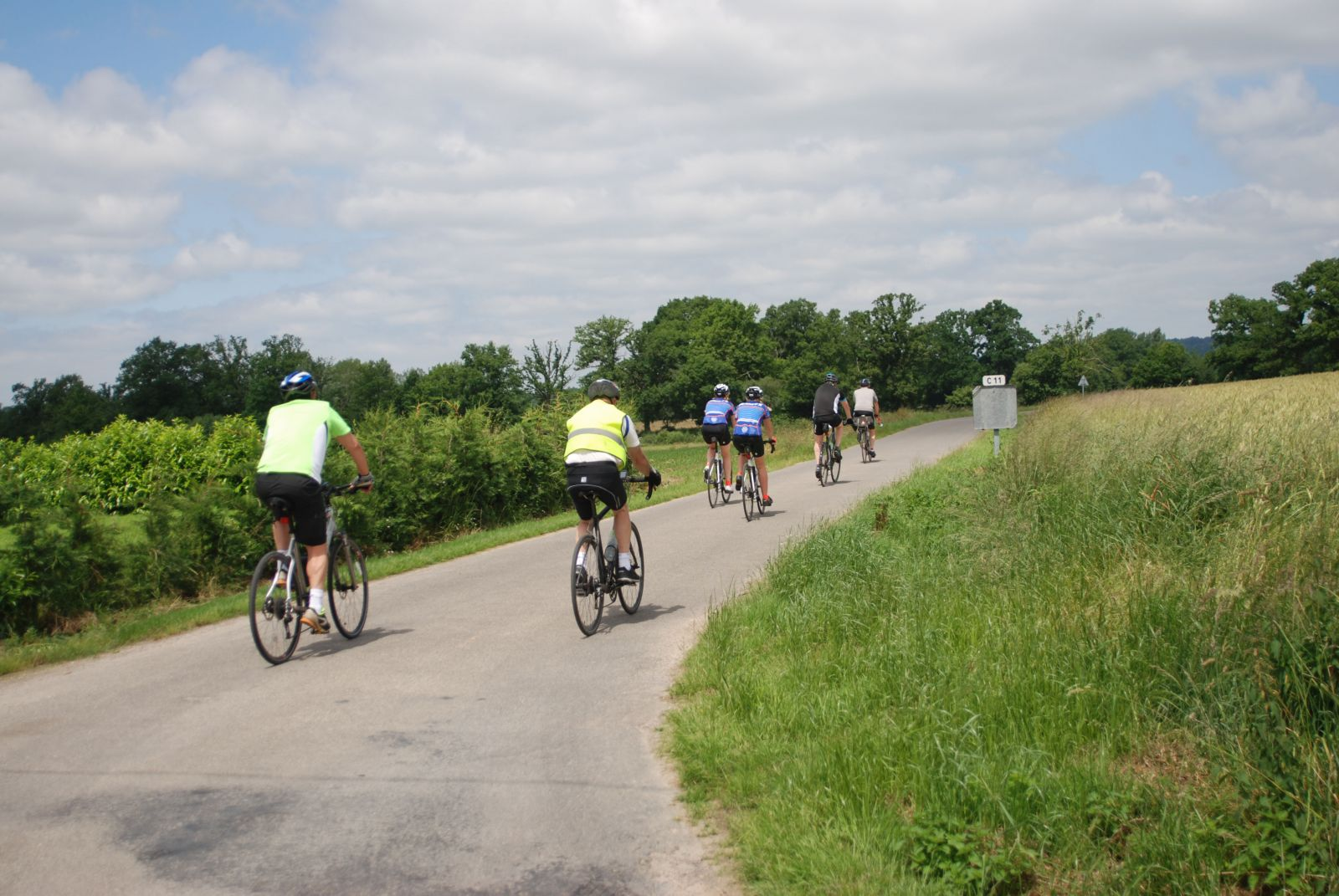 Cycling in Normandy