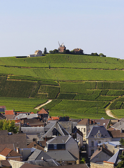 Cycle through pretty champagne villages