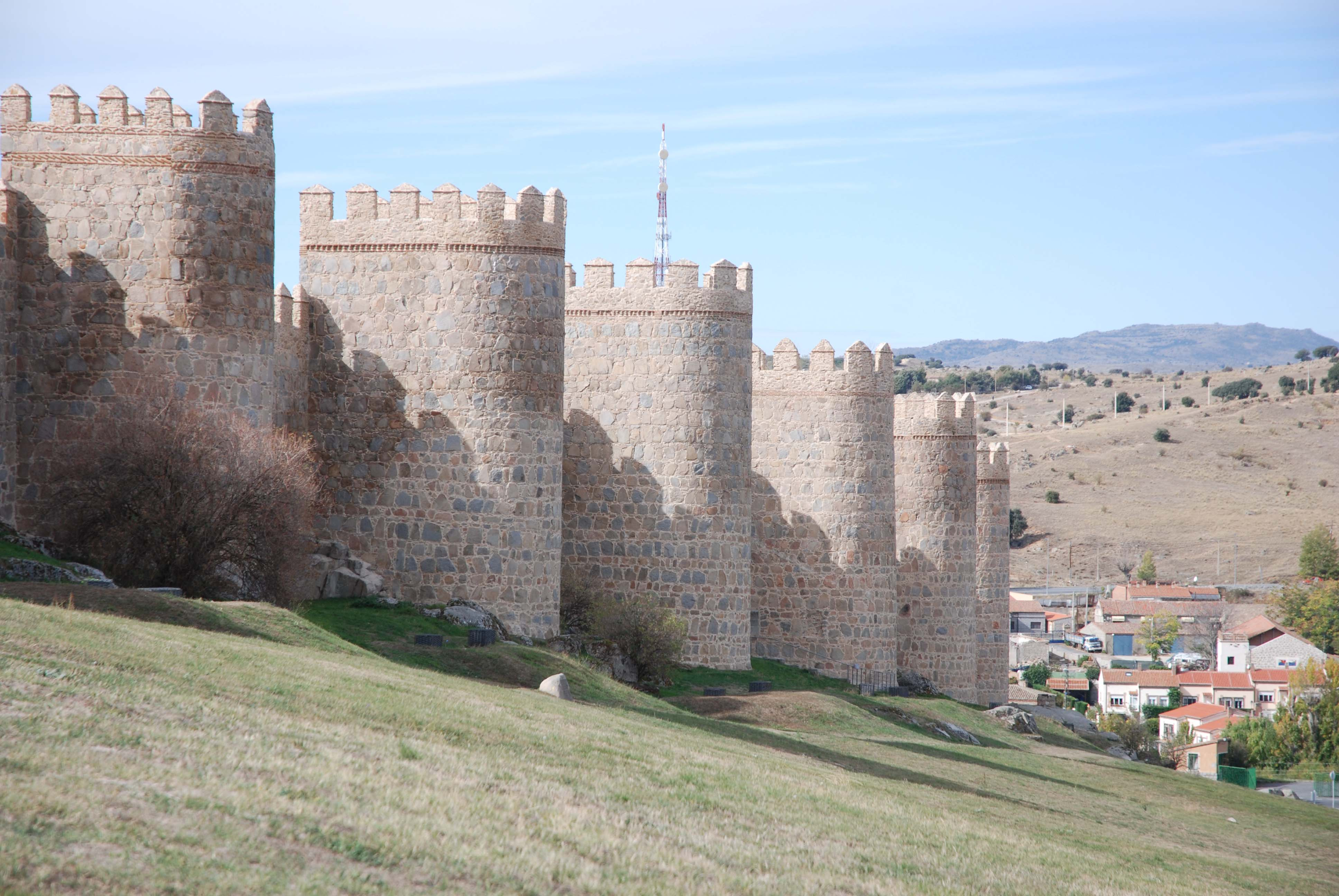Avila walls, the longest in Spain