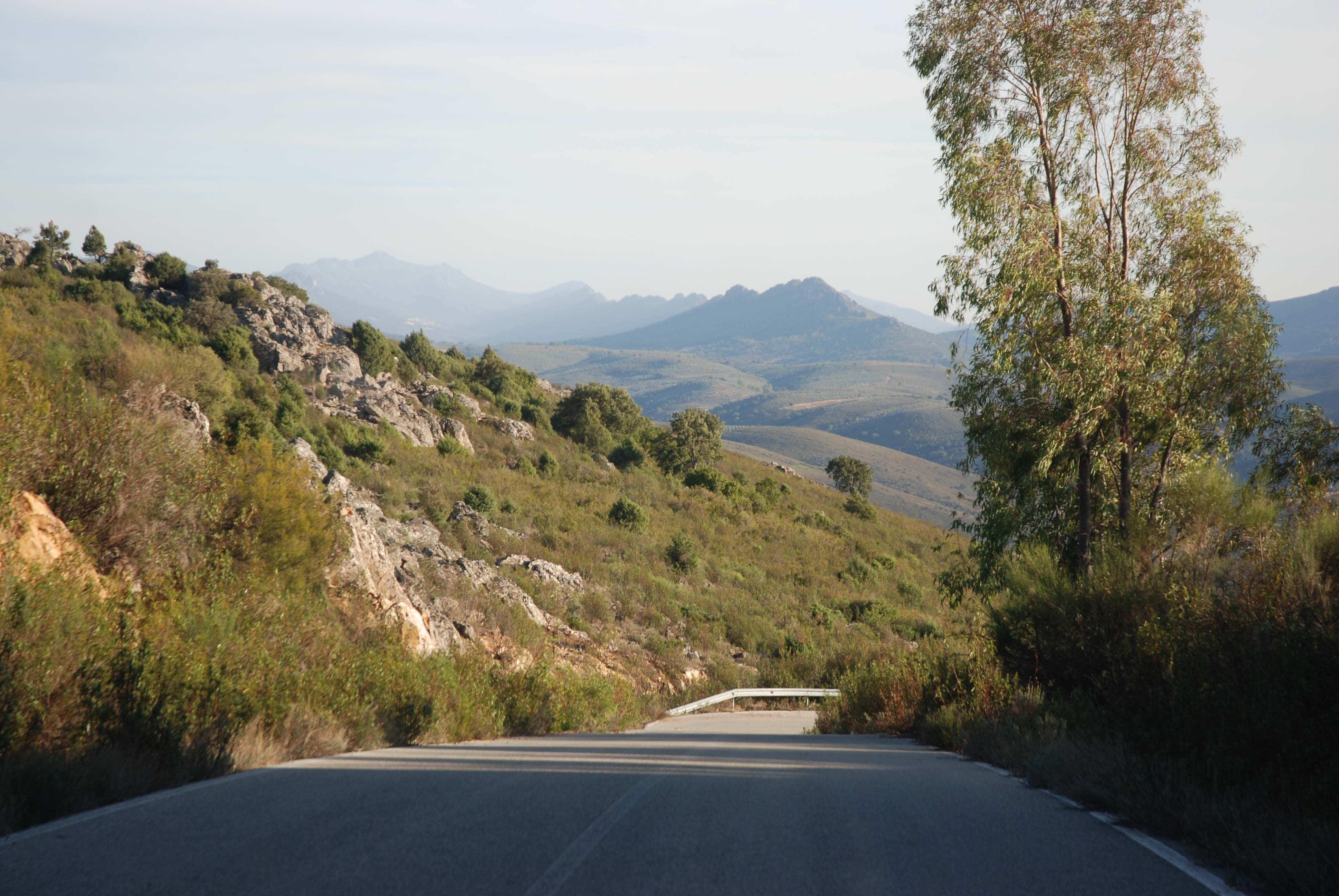 Beautiful Spanish cycling country