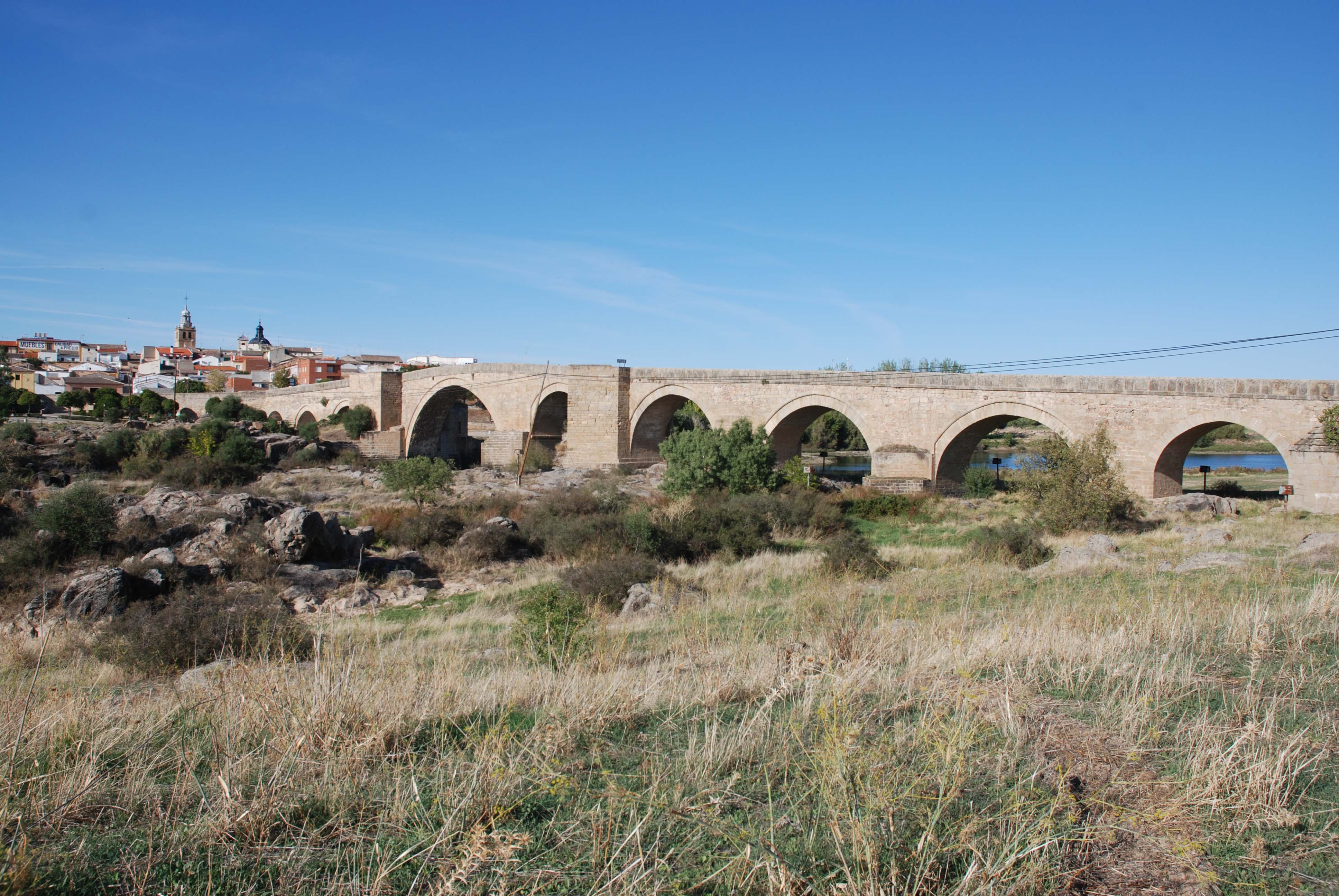 Roman bridges and remains abound