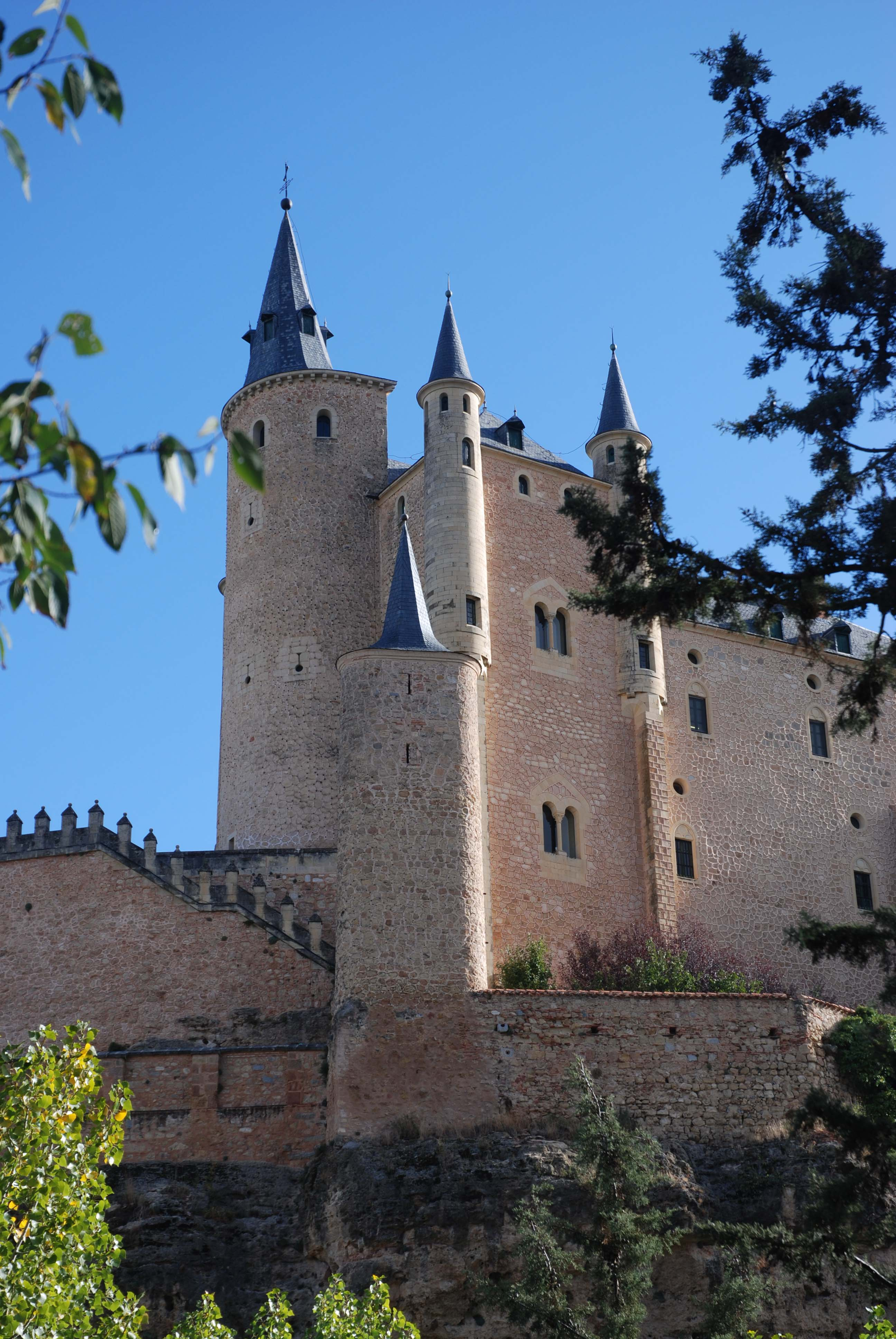 The Alcazar at Segovia
