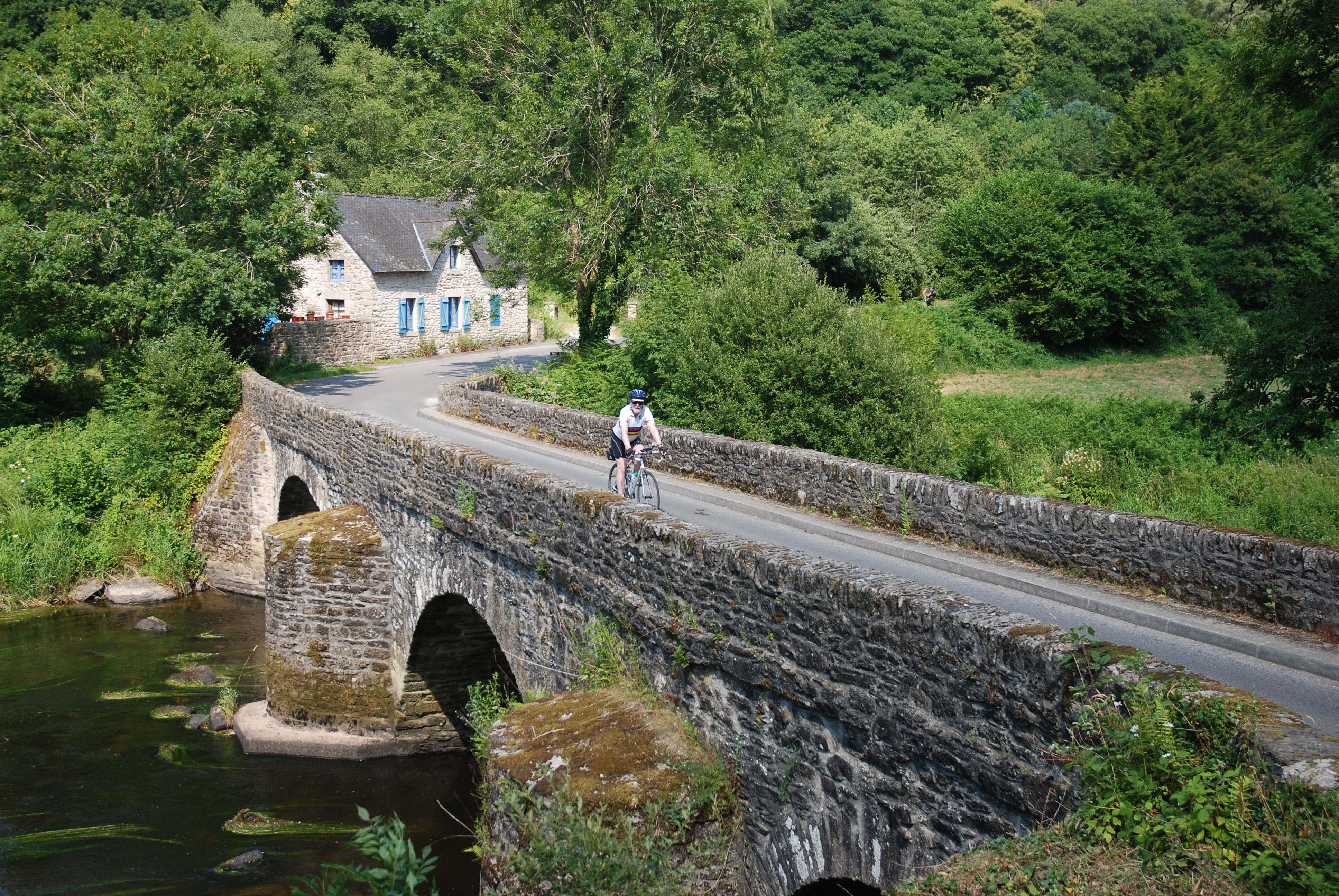 Cycling in unspoilt Brittany