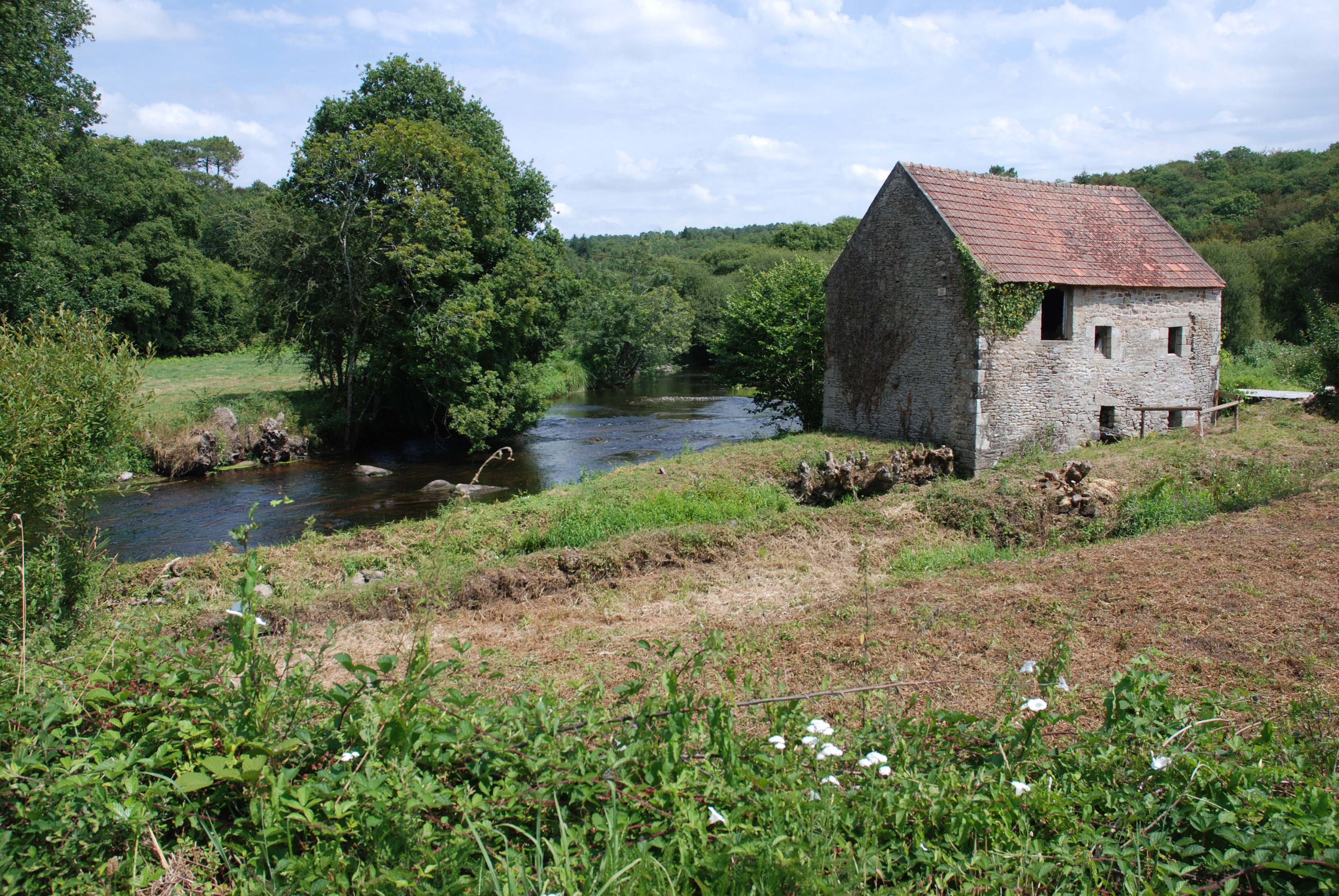 Mill house in Brittany