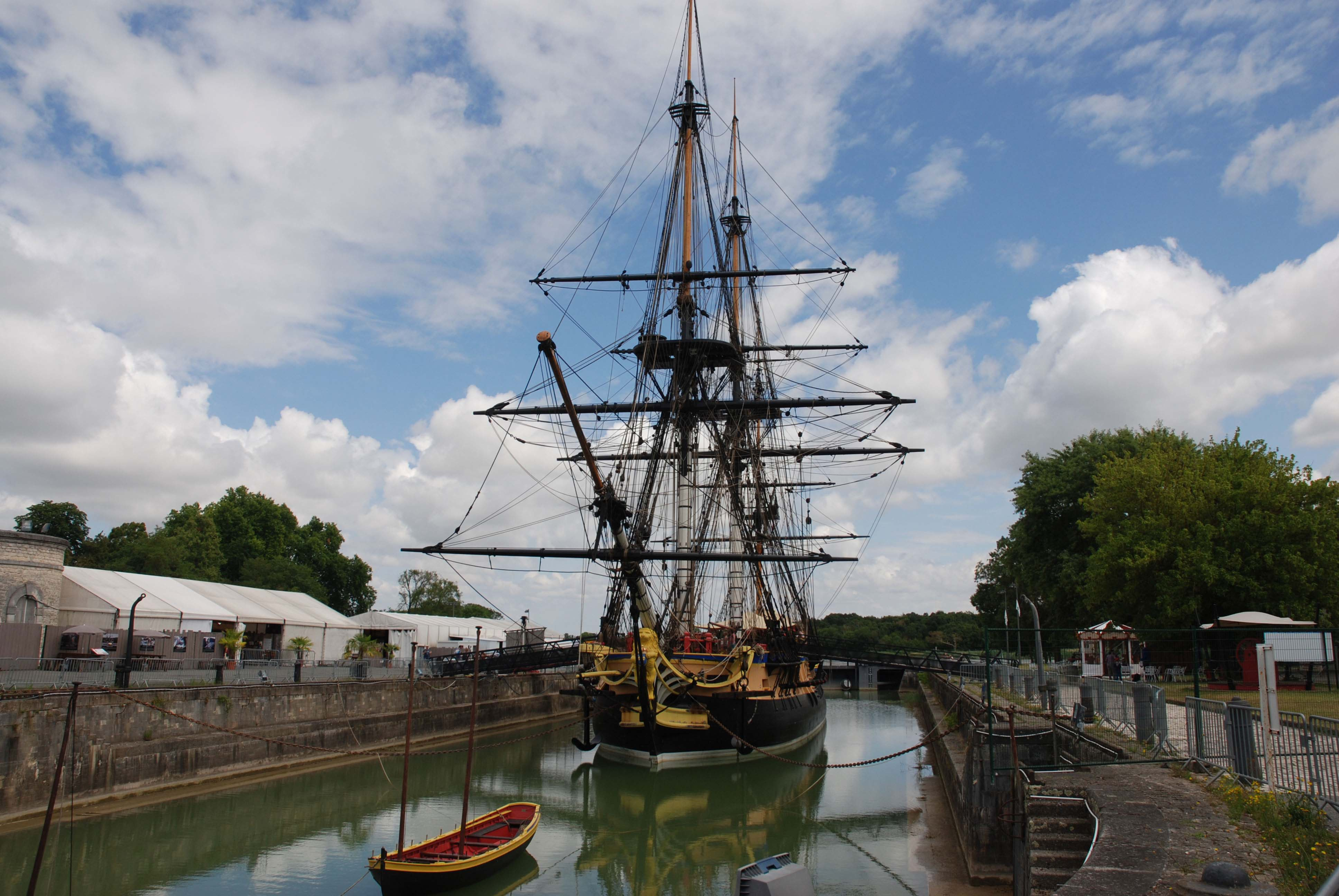 Maritime history at Rochefort